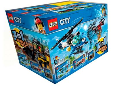 66643 LEGO City 3-in-1 Bundle Pack