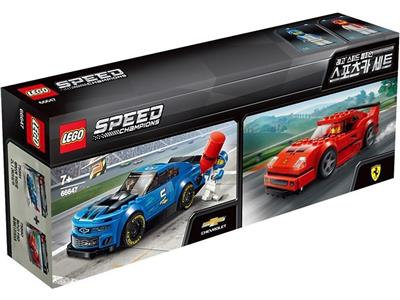 66647 LEGO Speed Champions Bundle 2 in 1
