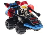 6831 LEGO Space Police Message Decoder