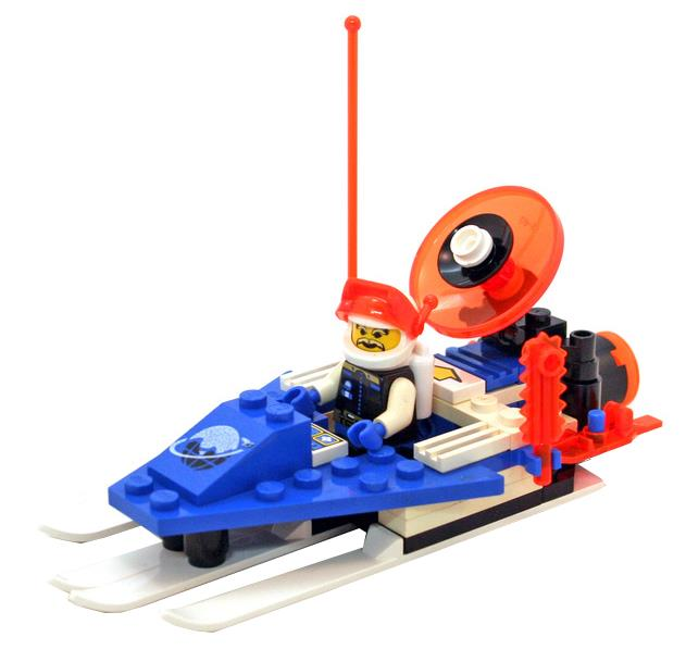 6879 Blizzard Baron 6834 Celestial Sled LEGO® Ice Planet 6814 Ice Tunnelator