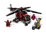 6866 LEGO X-Men Wolverine's Chopper Showdown