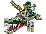 70126 LEGO Legends of Chima Crocodile Legend Beast