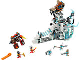 70147 LEGO Legends of Chima Sir Fangar's Ice Fortress