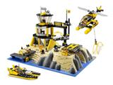 7047 LEGO World City Police and Rescue Coast Watch HQ
