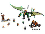 70593 LEGO Ninjago Skybound The Green NRG Dragon
