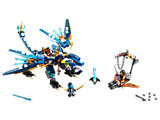70602 LEGO Ninjago Skybound Jay's Elemental Dragon