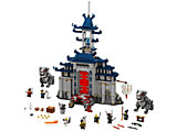 70617 The LEGO Ninjago Movie Temple of the Ultimate Ultimate Weapon