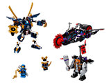 70642 LEGO Ninjago Sons of Garmadon Killow vs. Samurai X