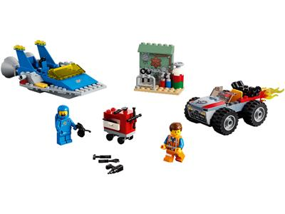70821 The Lego Movie 2 The Second Part Emmet And Benny S Build And Fix Workshop Brickeconomy