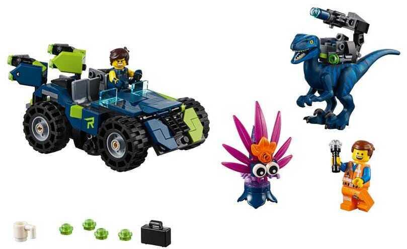70826 The Lego Movie 2 The Second Part Rex S Rex Treme Offroader Brickeconomy