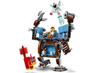 70842 The Lego Movie 2 The Second Part Emmet S Triple Decker Couch Mech Brickeconomy