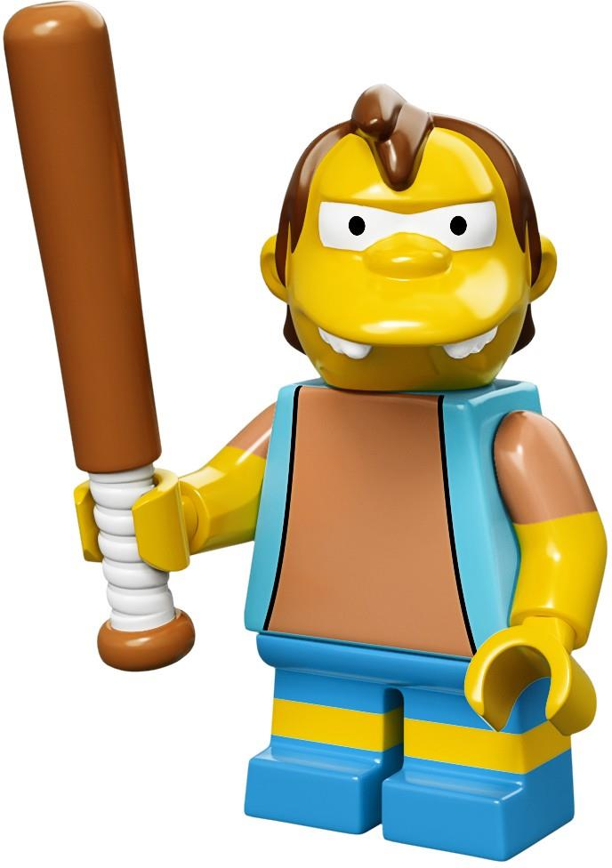 Nelson Muntz Collectible Minifigure // The Simpsons LEGO 71005 Mini Figure