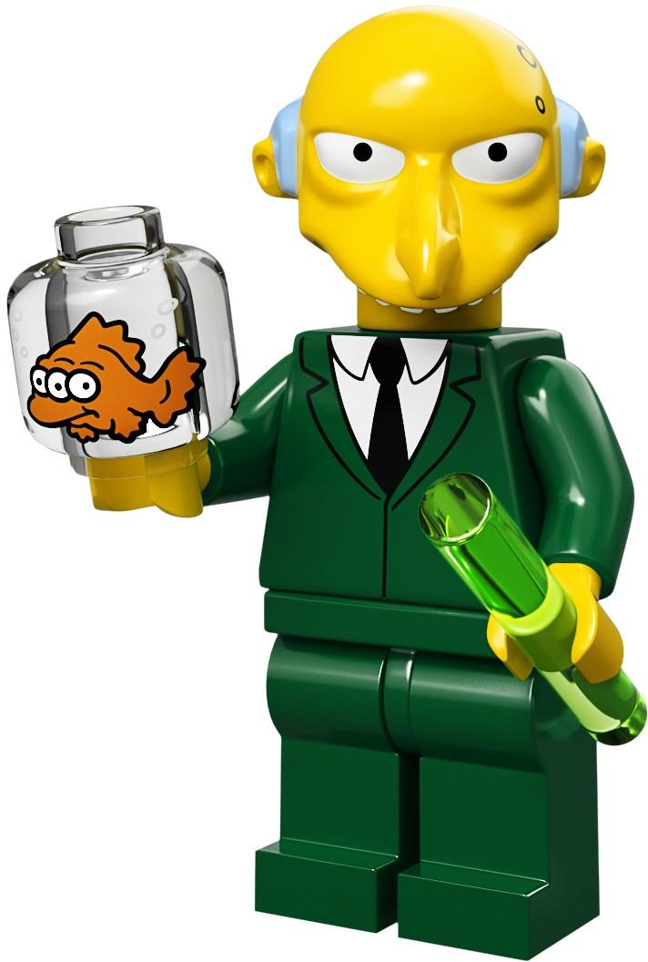 Lego mr burns the simpsons series 1 unopened new factory sealed