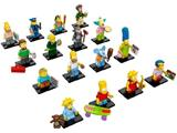 LEGO Minifigure Series The Simpsons Complete Set