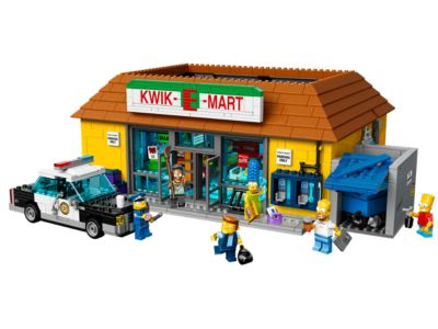 71016 LEGO The Simpsons Kwik-E-Mart