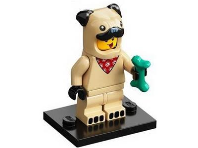 LEGO Minifigure Series 21 Pug Costume Guy