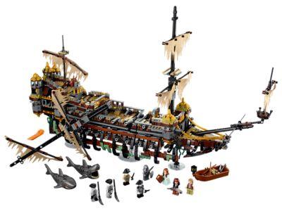 152 Piece Mini Lego Silent Mary 71042 Pirates of the Caribbean