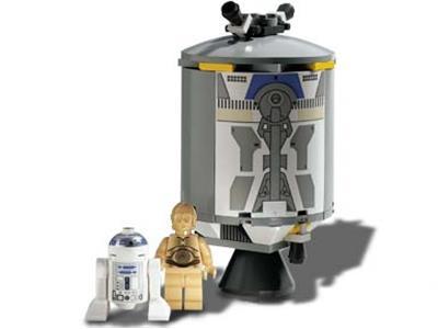NEW LEGO R2-D2 and C-3PO GENUINE Minifigure Star Wars 75228 R2D2 C3PO Mini Fig
