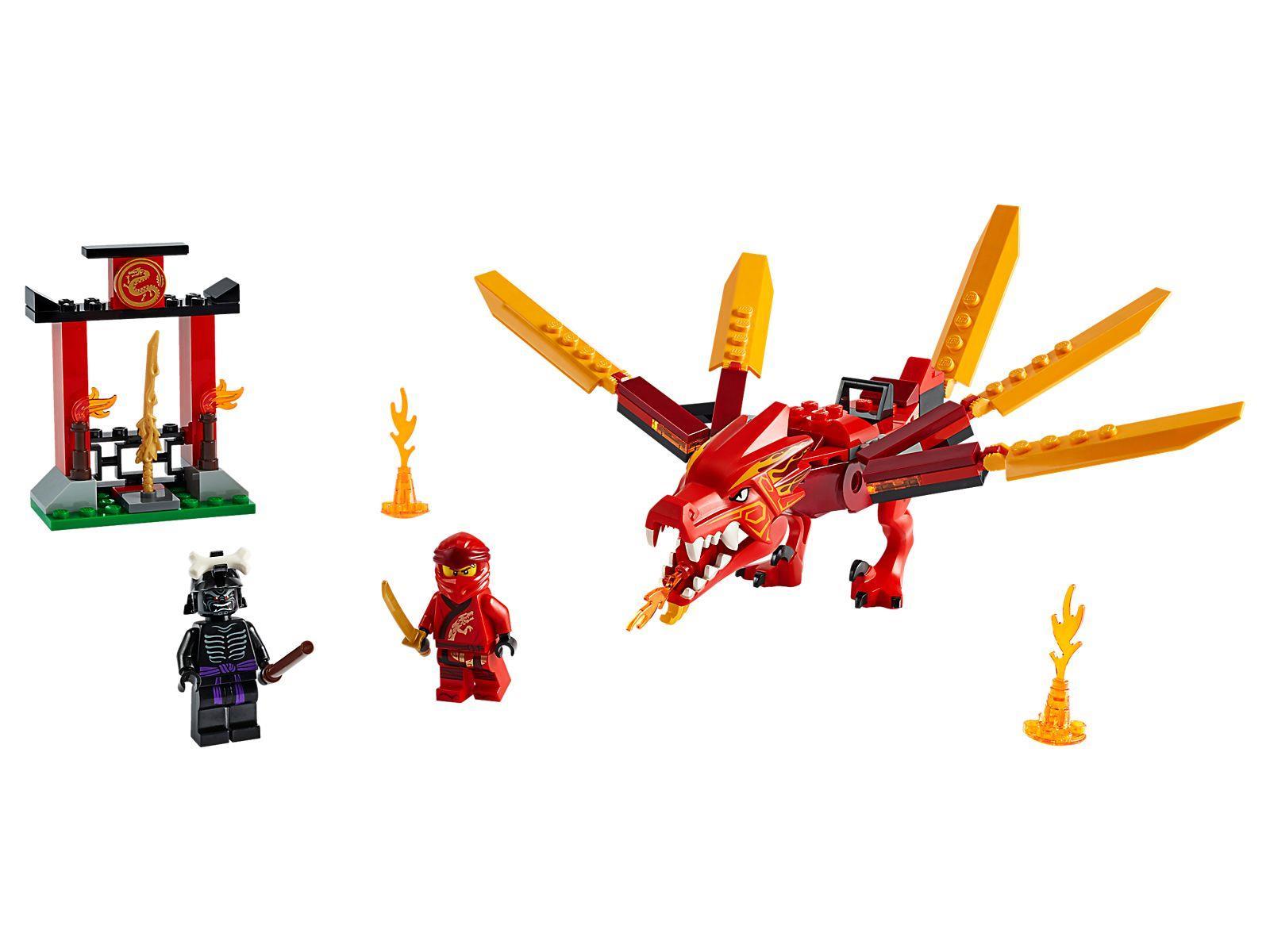Lego 71701 Ninjago Legacy Kai S Fire Dragon Brickeconomy