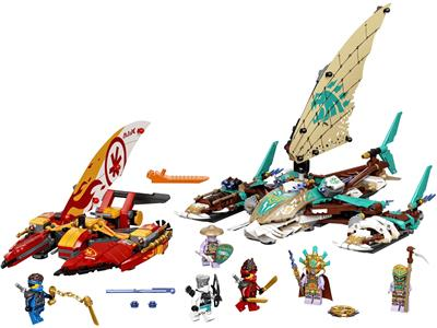 71748 LEGO Ninjago The Island Catamaran Sea Battle