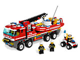 7213 LEGO City Off-Road Fire Truck & Fireboat