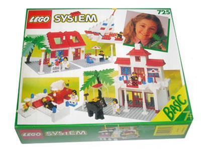 Lego Universal Building Set 725 Basic Building Set New Complete Sealed!