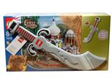 7418-2 LEGO Adventurers Orient Expedition Scorpion Palace and Foam Scimitar