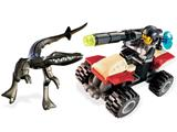 7473 LEGO Dino Attack Steel Sprinter vs. Mutant Lizard