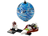 75006 LEGO Star Wars Jedi Starfighter & Planet Kamino