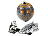 75007 LEGO Star Wars Republic Assault Ship & Planet Coruscant