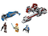 75012 LEGO Star Wars The Clone Wars BARC Speeder with Sidecar