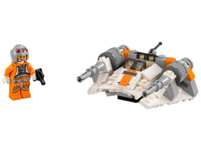 New Lego Star Wars Microfighters Snowspeeder Series 2 97 pcs #75074