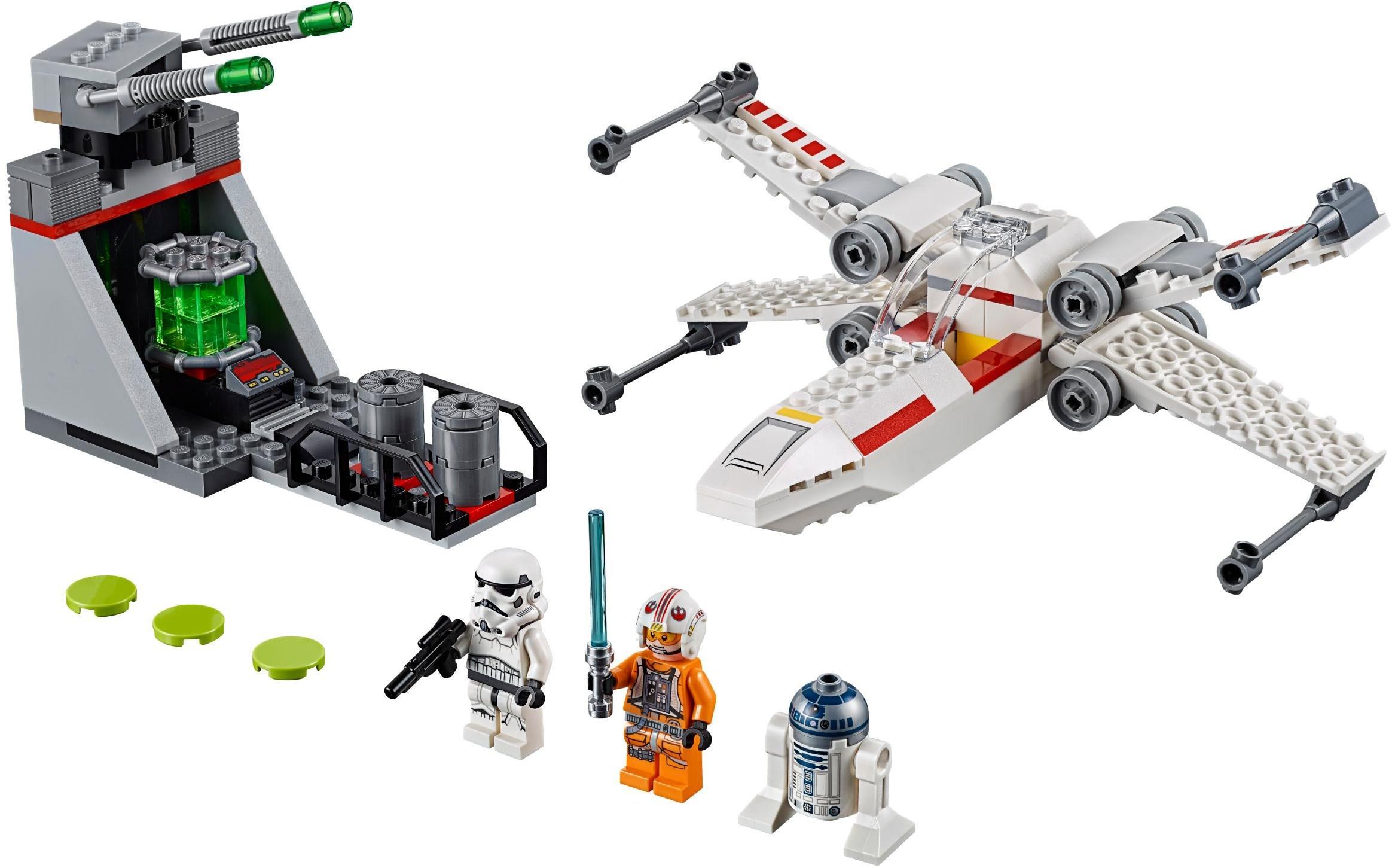 Lego 75235 Star Wars 4 Plus X Wing Starfighter Trench Run Brickeconomy