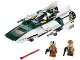 75248 LEGO Star Wars The Rise of Skywalker Resistance A-wing Starfighter