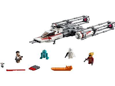75249 LEGO Star Wars The Rise of Skywalker Resistance Y-wing Starfighter