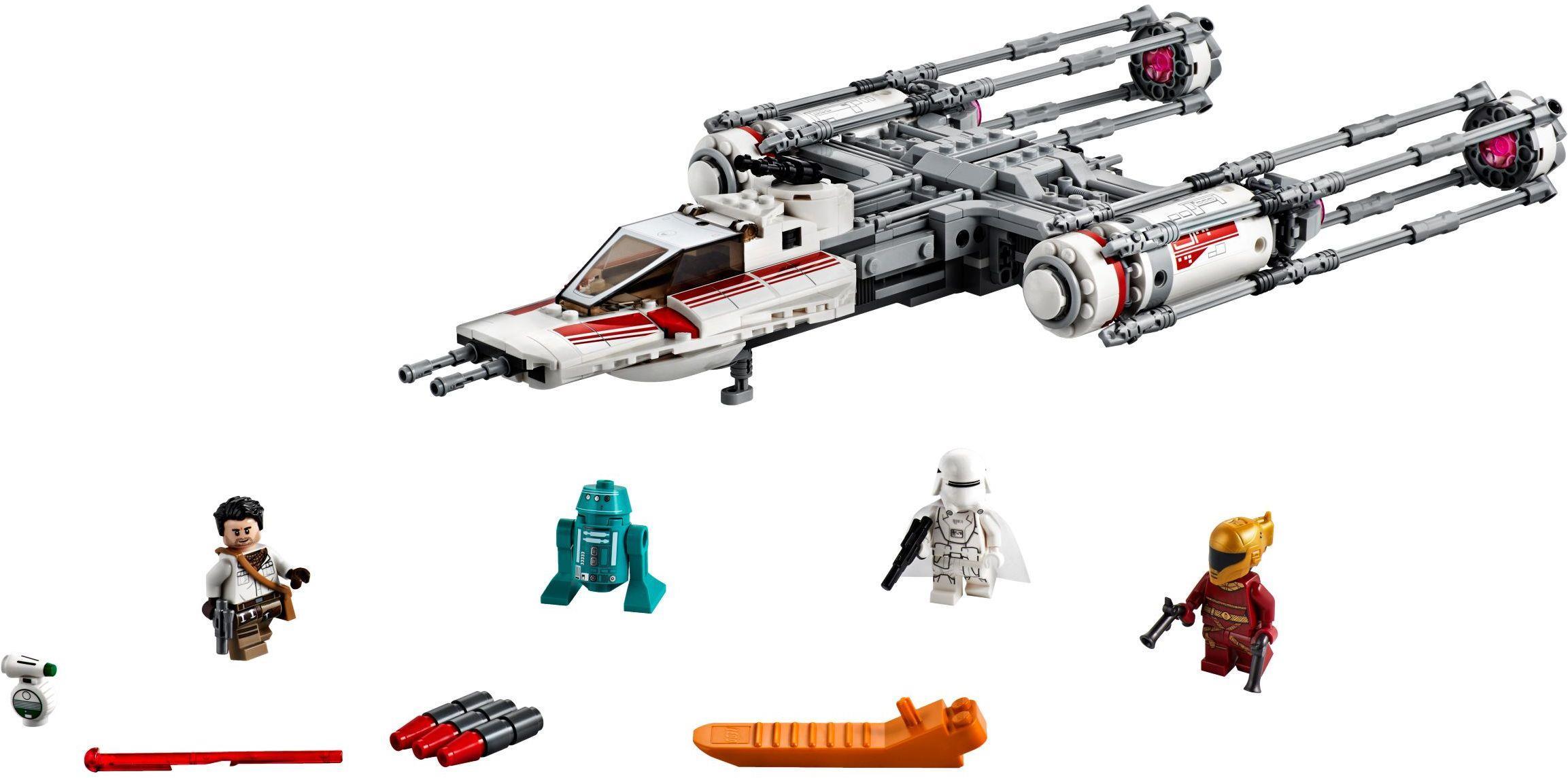 Lego 75249 Star Wars Resistance Y Wing Starfighter Brickeconomy
