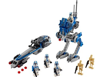 75280 LEGO Star Wars The Clone Wars 501st Legion Clone Troopers