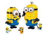 75551 LEGO Brick-built Minions and their Lair thumbnail image