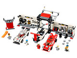 75876 LEGO Speed Champions Porsche 919 Hybrid and 917K Pit Lane