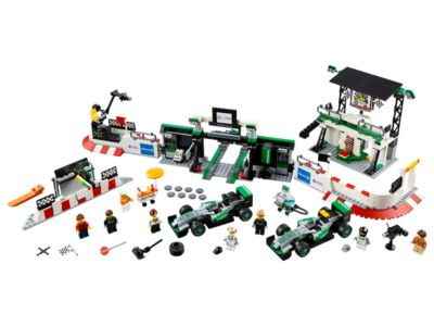 75883 LEGO Speed Champions Mercedes AMG Petronas Formula One Team