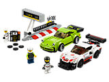 75888 LEGO Speed Champions Porsche 911 RSR and 911 Turbo 3.0