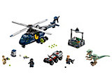 75928 LEGO Jurassic World Fallen Kingdom Blue's Helicopter Pursuit