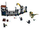 75931 LEGO Jurassic World Fallen Kingdom Dilophosaurus Outpost Attack