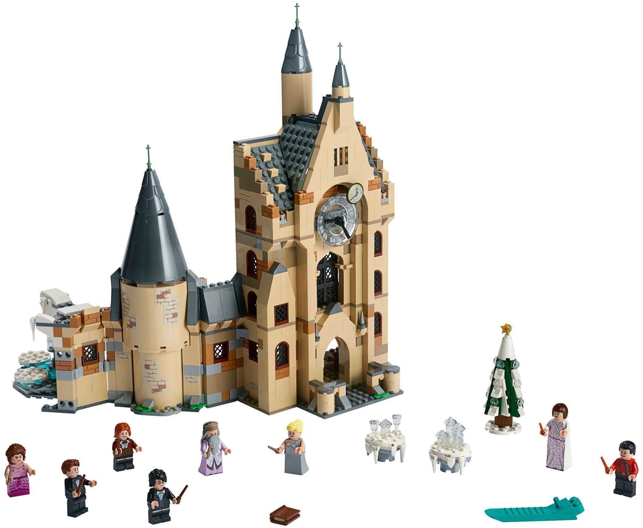 LEGO 75948 Harry Potter Hogwarts Clock Tower Hogwarts Castle New in Sealed Box