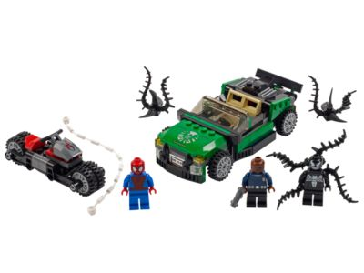 76004 LEGO Ultimate Spider-Man Spider-Cycle Chase
