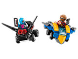76090 LEGO Mighty Micros Star-Lord vs. Nebula