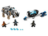 76099 LEGO Black Panther Rhino Face-Off by the Mine