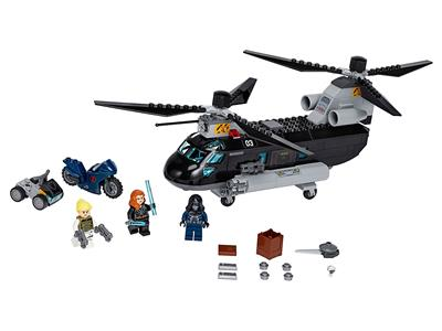 76162 LEGO Black Widow's Helicopter Chase