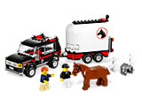 7635 LEGO City Farm 4WD with Horse Trailer