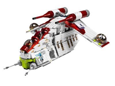 7676 LEGO Star Wars The Clone Wars Republic Attack Gunship